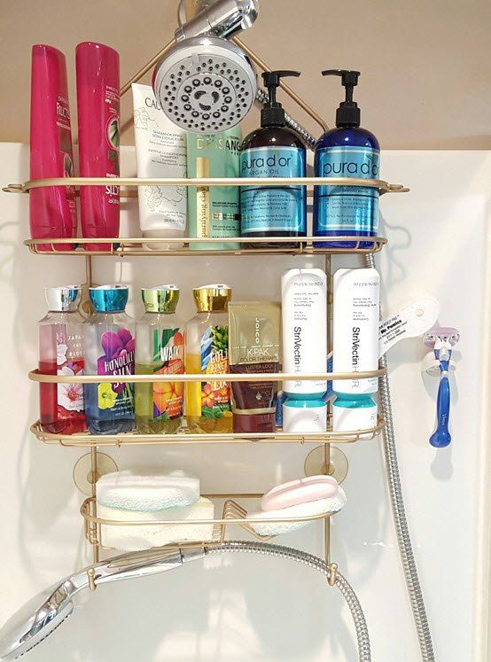 This will make your rusty shower organizers look new and beautiful in no time!