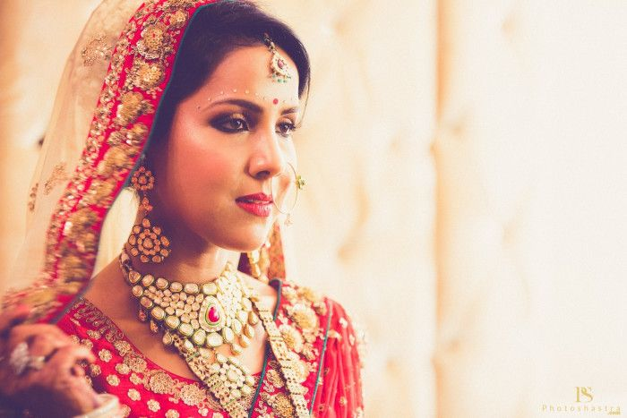 Beautiful bride   jewellery   Weddingplz   Wedding   Bride   Groom   love   Fashion   IndianWedding    Beautiful   Style