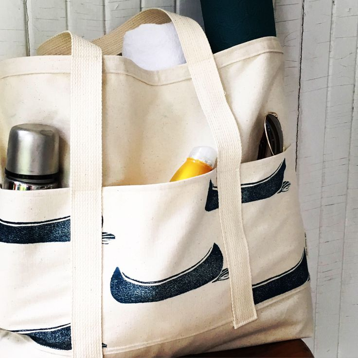 A personal favorite from my Etsy shop https://www.etsy.com/ca/listing/531690140/extra-large-tote-carry-all-beach-bag
