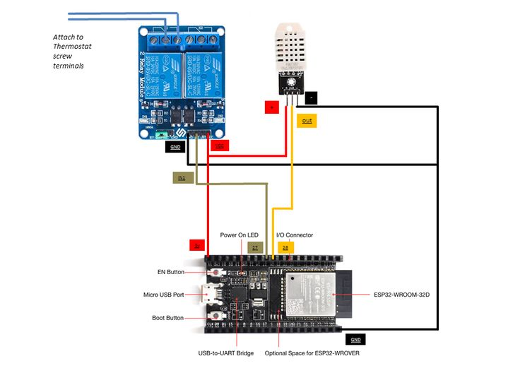 WiFi Thermostat ESP32 and Arduino – Hackster.io