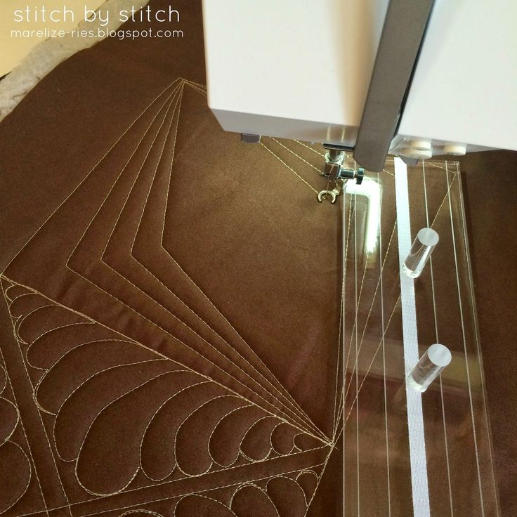 Stitch by Stitch: Fine Line Quilting Rulers free motion quilting with rulers