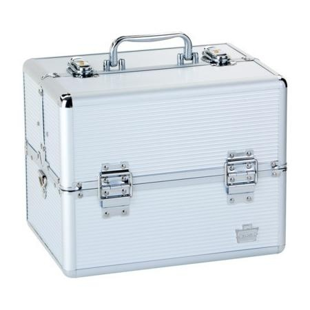 Caboodle Makeup Case on Caboodles Pro Cosmetic Case   Silver   Organization