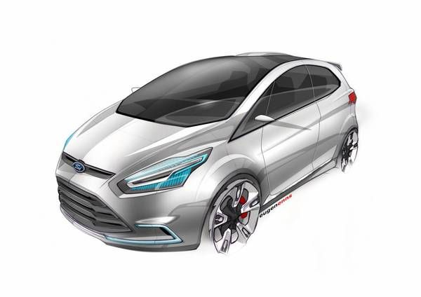 FORD IOSIS-MAX by enns eugen, via Behance