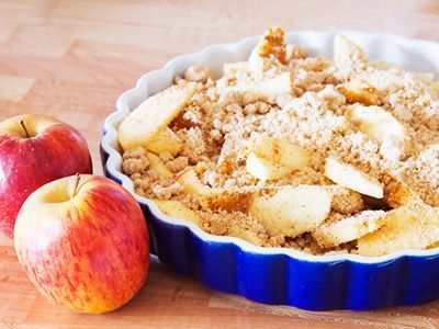 The Forks Over Knives Plan Recipe: Apple Crisp - Tips on Life and Love