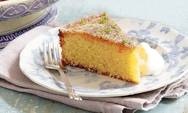 Mary Berry Absolute Favourites Part II: Lime and polenta cake