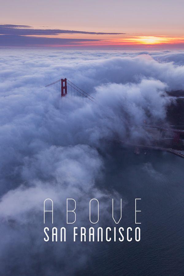 San Francisco Fog Map Live%0A Above San Francisco by Toby Harriman  via Behance