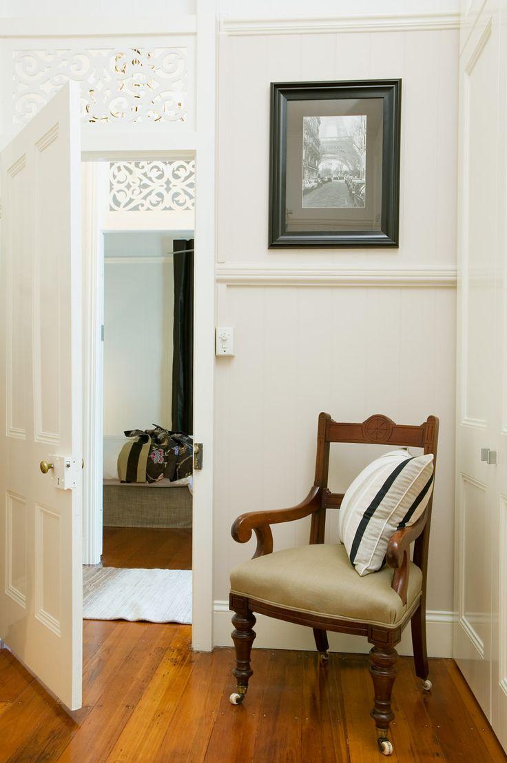 Breezeway above internal doors