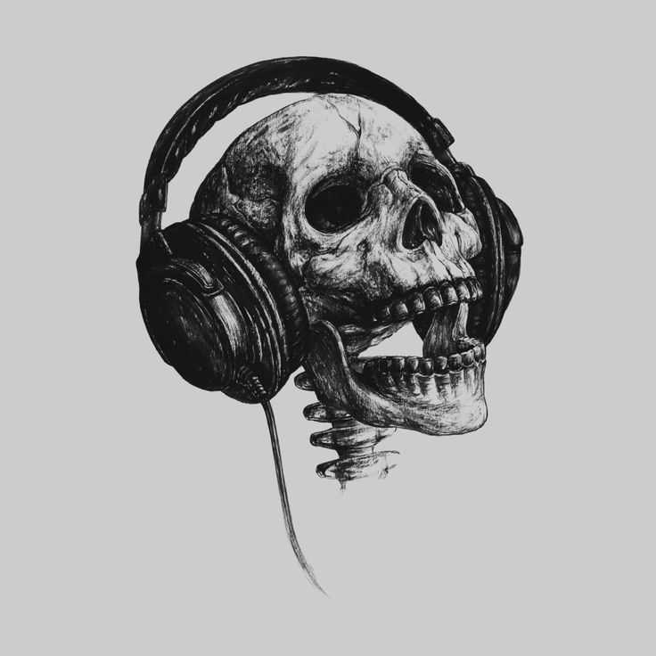 Music Forever Lena_Graphic Artist Shop in 2020 Skull