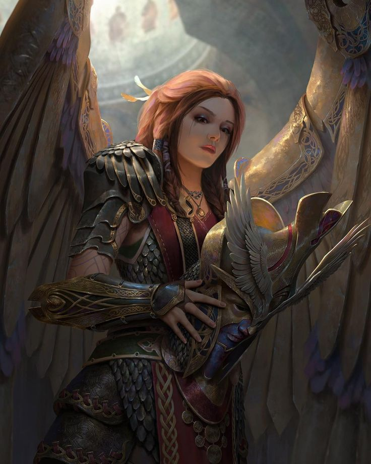 Am Valkyrie: Valkyrie Are A Host Of Female Figures Who Choose Those Who
