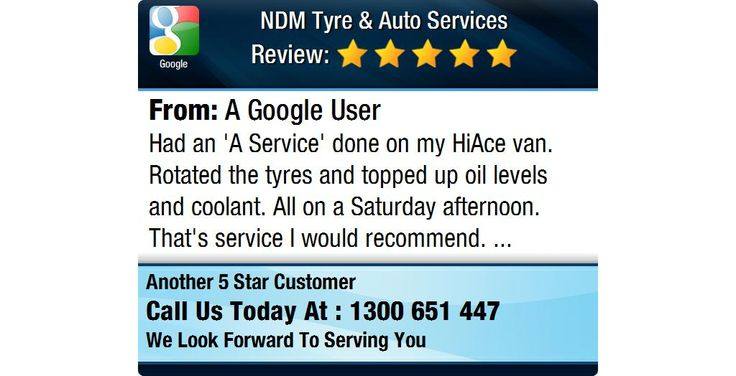 Had an 'A Service' done on my HiAce van.