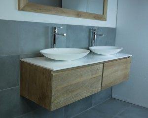 badkamerkast houten blad - Google zoeken
