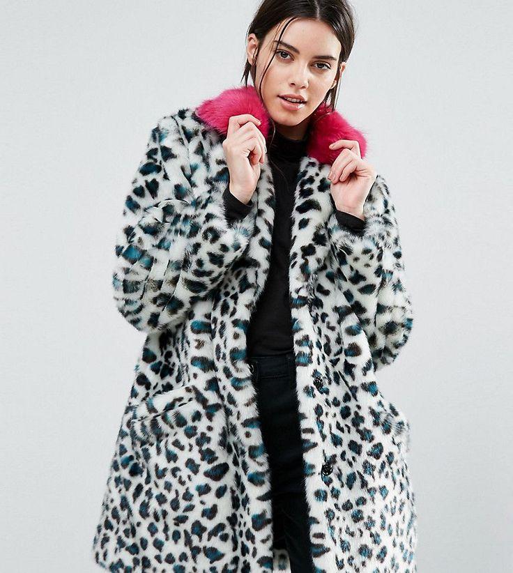 ¡Consigue este tipo de chaqueta de cuero de Asos Petite ahora! Haz clic para ver los detalles. Envíos gratis a toda España. Abrigo de piel sintética con estampado de leopardo y cuello llamativo de ASOS PETITE: Abrigo de talla pequeña de ASOS PETITE, Exterior de piel sintética, Solapas de muesca, Cuello en contraste, Tapeta con botones de presión, Diseño con estampado de leopardo, Bolsillos funcionales, Corte holgado, Lavar en seco, 51% acrílico, 28% modacrílico, 21% poliéster, Mode...