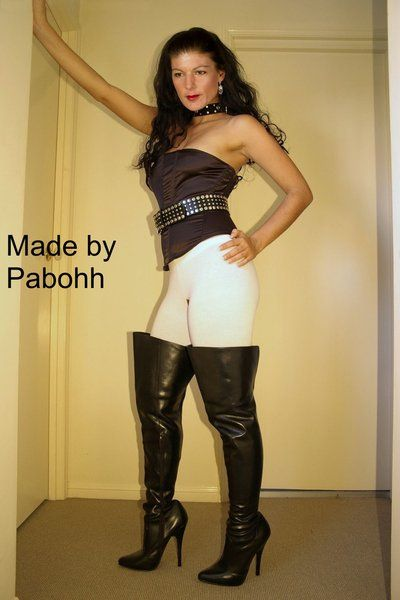 Sahra Wagenknecht Fake005 by pabohh on DeviantArt | Sarah ...
