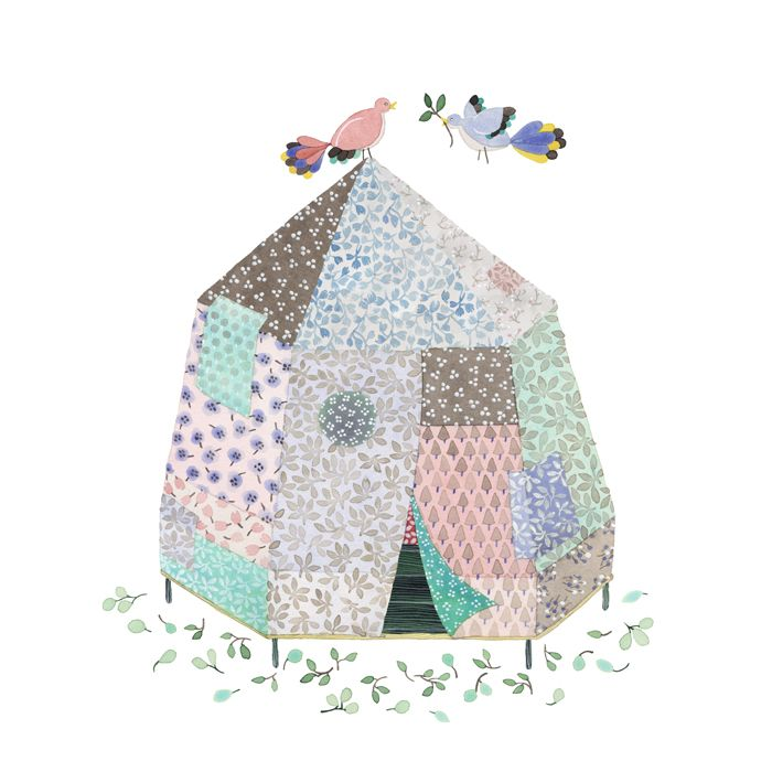 Spring Tent by Anna Emilia Laitinen