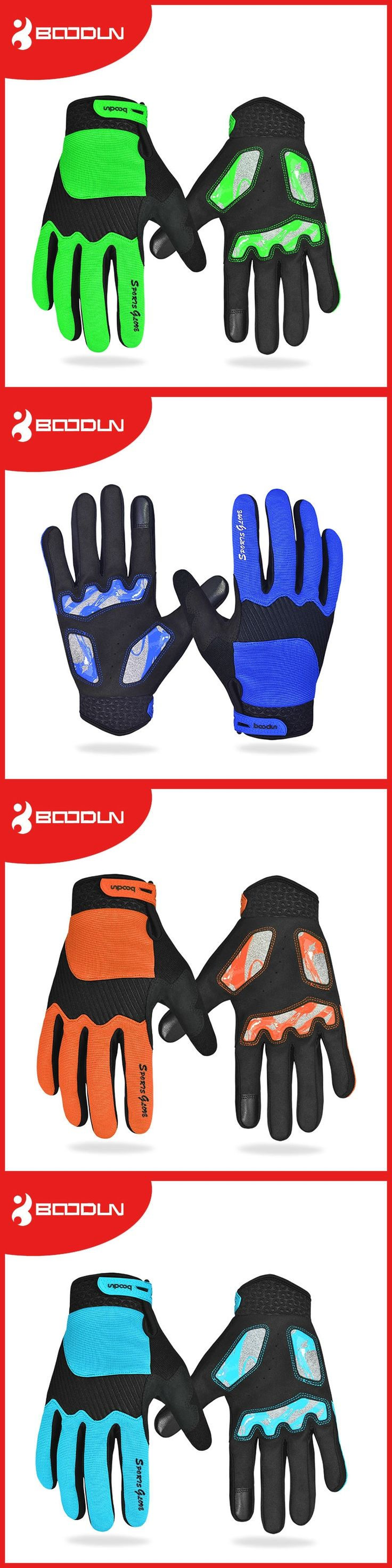 Boodun Winter Full Finger Cycling Gloves Waterproof Windproof Gloves Winter Bicycle Thermal Guantes Ciclismo Bicicleta