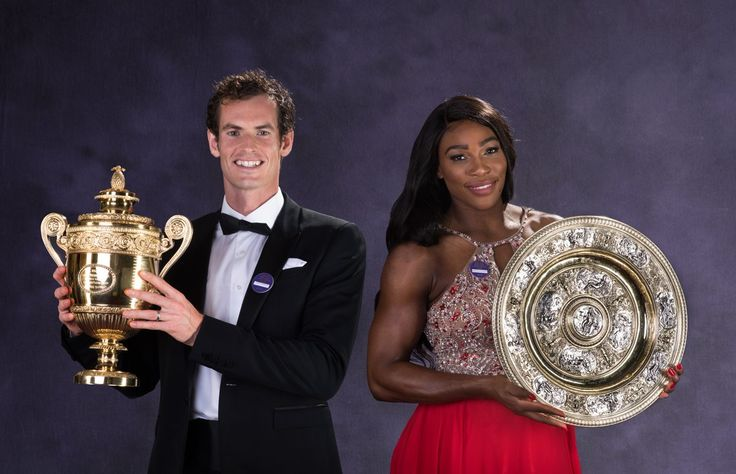 Serena Williams and Andy Murray - Wimbledon Champions  2016