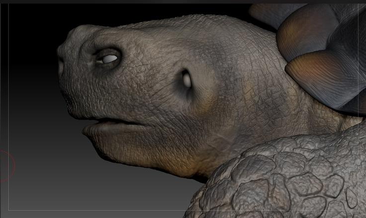 Modeling process - Close up