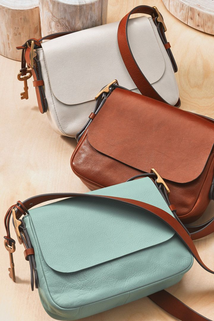 "Meet spring's newest ""it"" bag. Harper is a sleek shoulder companion with clean lines, adjustable straps, and interior-only pockets. It's your new go-to everyday crossbody."