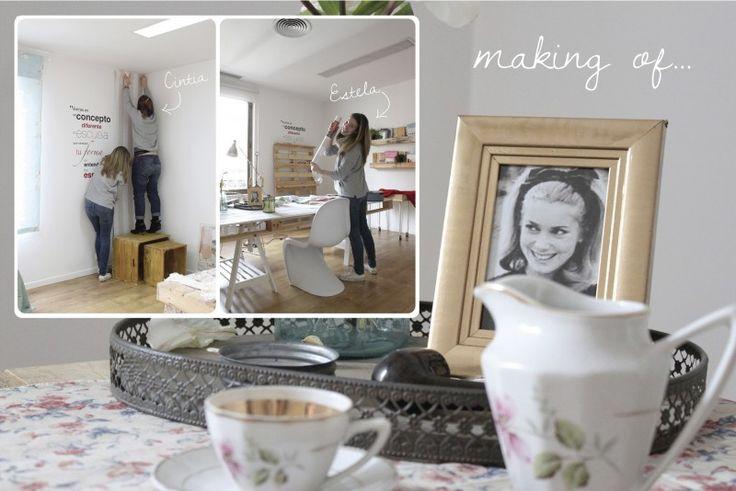 El estilismo de una campiña inglesa hace 50 años y su making of - Deco & Living