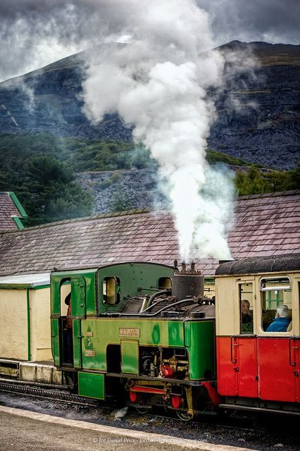 Snowdon Mountain Railway (Rheilffordd yr Wyddfa) takes you up Mt. Snowdon in North Wales. Snowdon, at 3,560ft dominates the landscape of Snowdonia National Park in North Wales and is the highest mountain in wales.