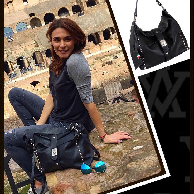 #tb #Rome #colosseum #happymoments #italian_leather_bags #adelevivian