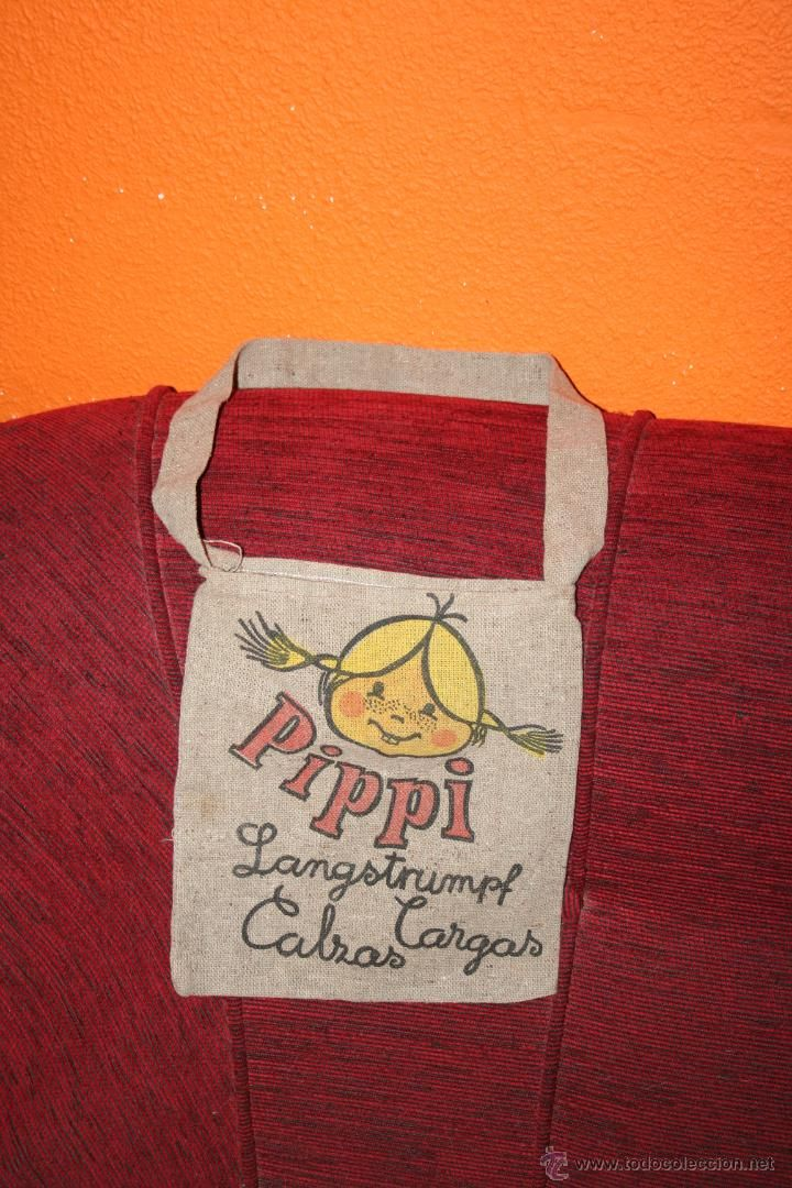 bolsa bolso original muñeca pipi de toyse años 70 - Foto 1