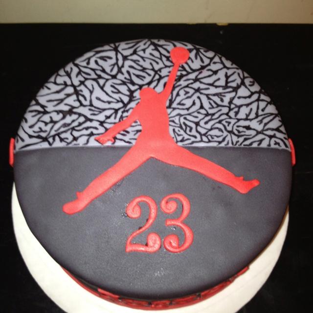 JORDAN CAKE Sports cakes Pinterest