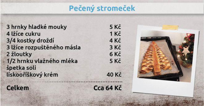 Recepty Ládi Hrušky - Pečený stromeček