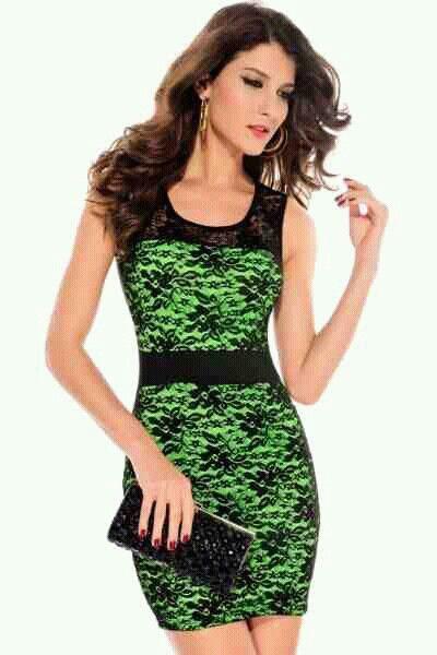 Zielono-czarna