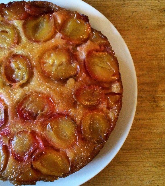 Plum Upside Down Cake | Baking | Simple recipe