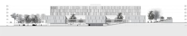 Galería - Fábrica de Paisaje, Primer Lugar en concurso sanatorio y centro nacional de rehabilitación / Montevideo - 25