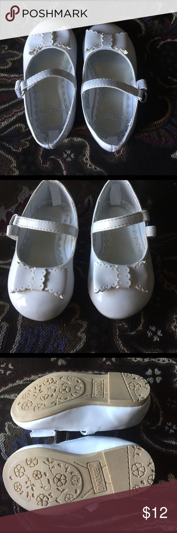 NWOT Gymboree Patent leather white Mary Jane shoes Never worn size 4, perfect for Easter! Gymboree Shoes Dress Shoes