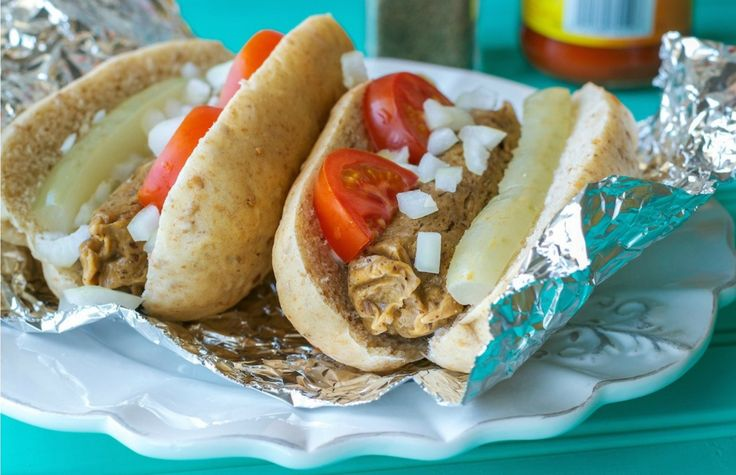 <p>These vegan hot dogs are super easy to make, are juicy and have that kind of eerily familiar mout</p>