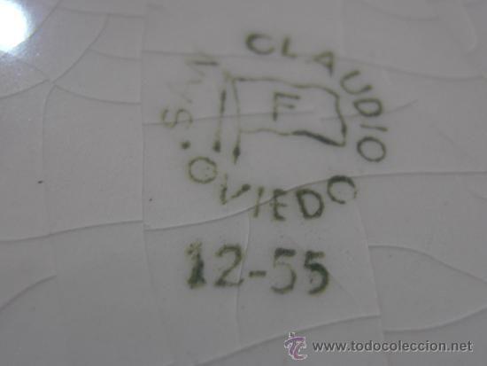 Antigüedades: VAJILLA SAN CLAUDIO, OVIEDO, CIL MADRID - Foto 5 - 35103589