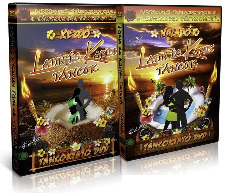 Latin és Karibi Táncok - KEZDŐ - HALADÓ csomag - Táncoktató DVD