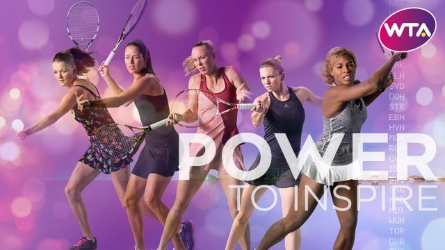 There's much more to come from the new Power To Inspire campaign - stay tuned on wtatennis.com!
