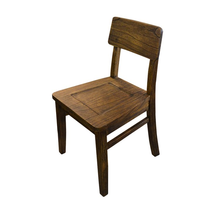 Dining chair - John - Rustic. A rustic industrial chair for your dining space. Pair it with our rustic dining table for charming set.
