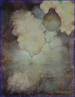 Jan Mankes (1889-1920) lijster tussen bloemen (1912)