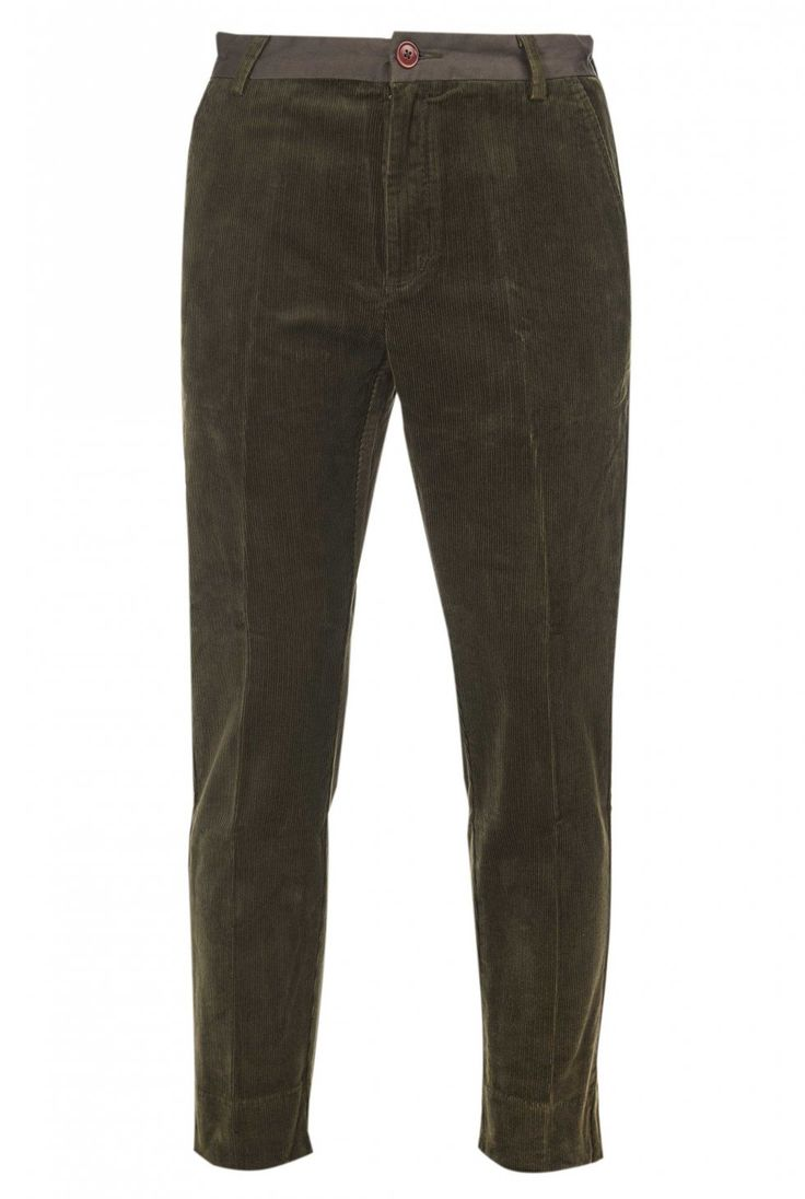 Fidra Cord Trouser by Barbour in Olive