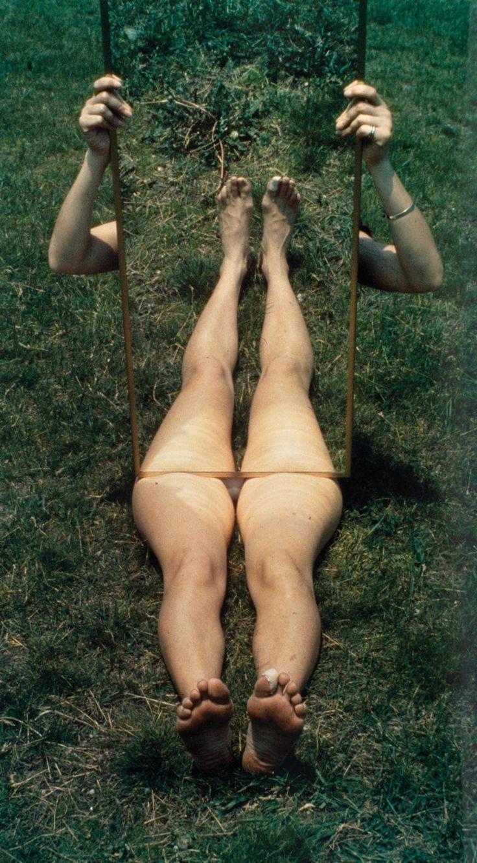 © Joan Jonas, Mirror Piece I, 1969
