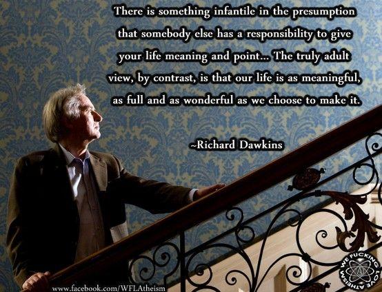 Meaning of Life - Richard Dawkins