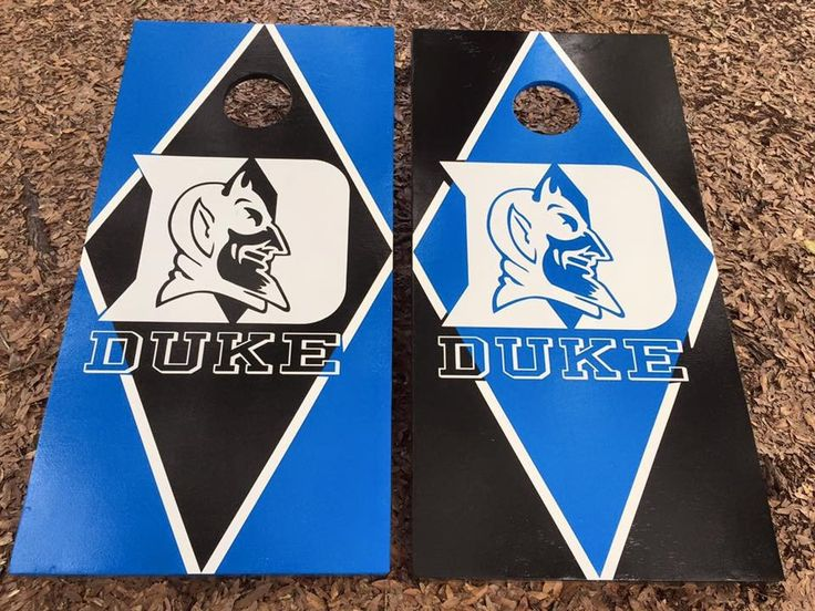 Duke Blue Devils Cornhole Set With Bean Bags
