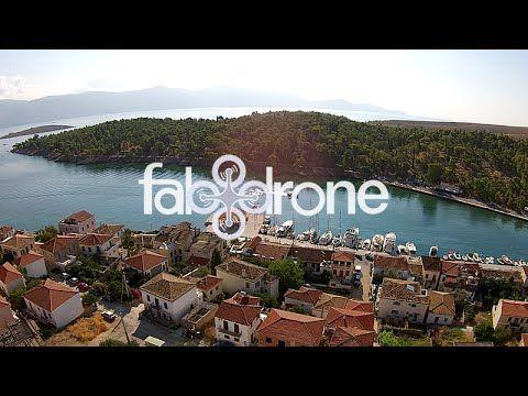 drone aerial view of Galaxidi - Fokida - Το Γαλαξείδι Φωκίδας από ψηλά
