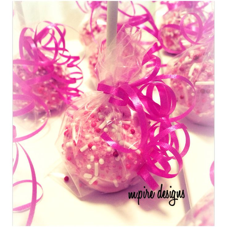 Cotton Candy Theme  #pink #hotpink #fuscia #cakepops #cottoncandy #cakepopdelights #bitesize #mini #dessert #indulgence #guiltypleasures #redvelvet #weddings #events #corporate #babyshower #anniversary #bridal #bridalshower #girlsnight #girls #girlie #boyfriend #teganandsara #weddingblog #torontoblog #toronto #blog #mpiredesigns