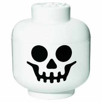 Lego Storage Head Skeleton. Kan købes via Amazon.co.uk