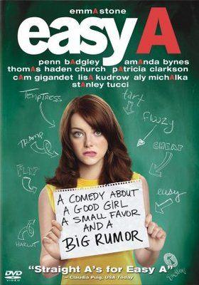 Easy A movie posters (2010) → Easy A movie poster (2010) Poster ...   //One of my favoritesss
