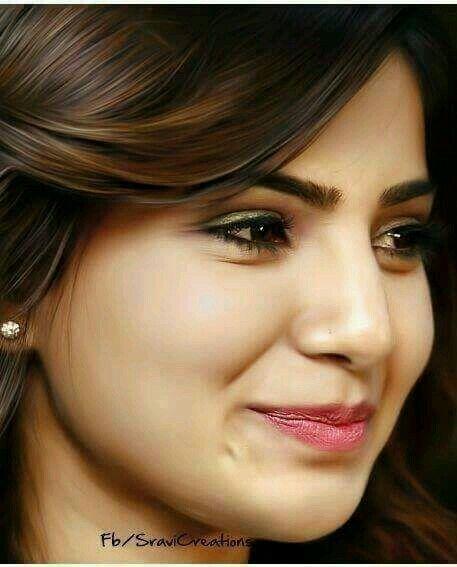 samantha cute expression | samantha | Samantha ruth ...