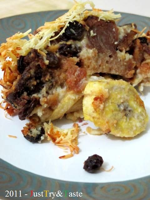 Just Try & Taste: Puding Roti-Pisang