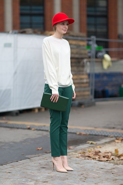 Street Style Paris Fashion Week Spring 2014 Kl Der Pinterest Stil Och Mode Mode Och Kl Der