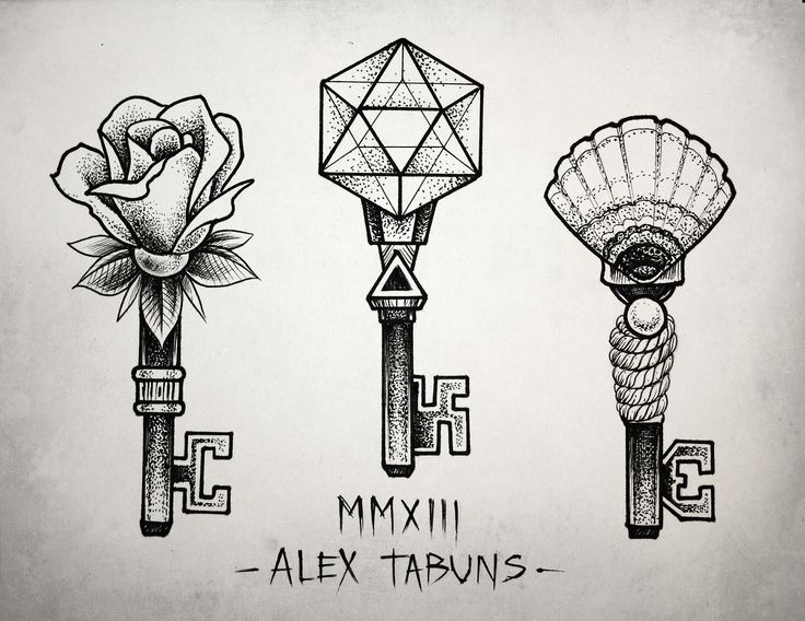 I like the shell key kinda goes with the key to my heart idea I'm working on for a tattoo about aubz